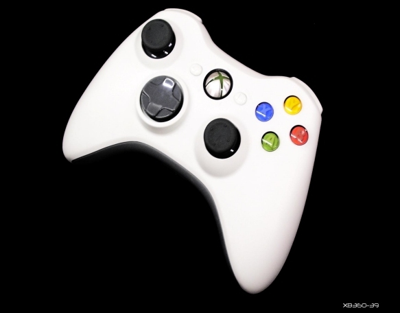 Product Photo/New Xbox 360 Natural Official Console Wireless Controller/Click to view.
