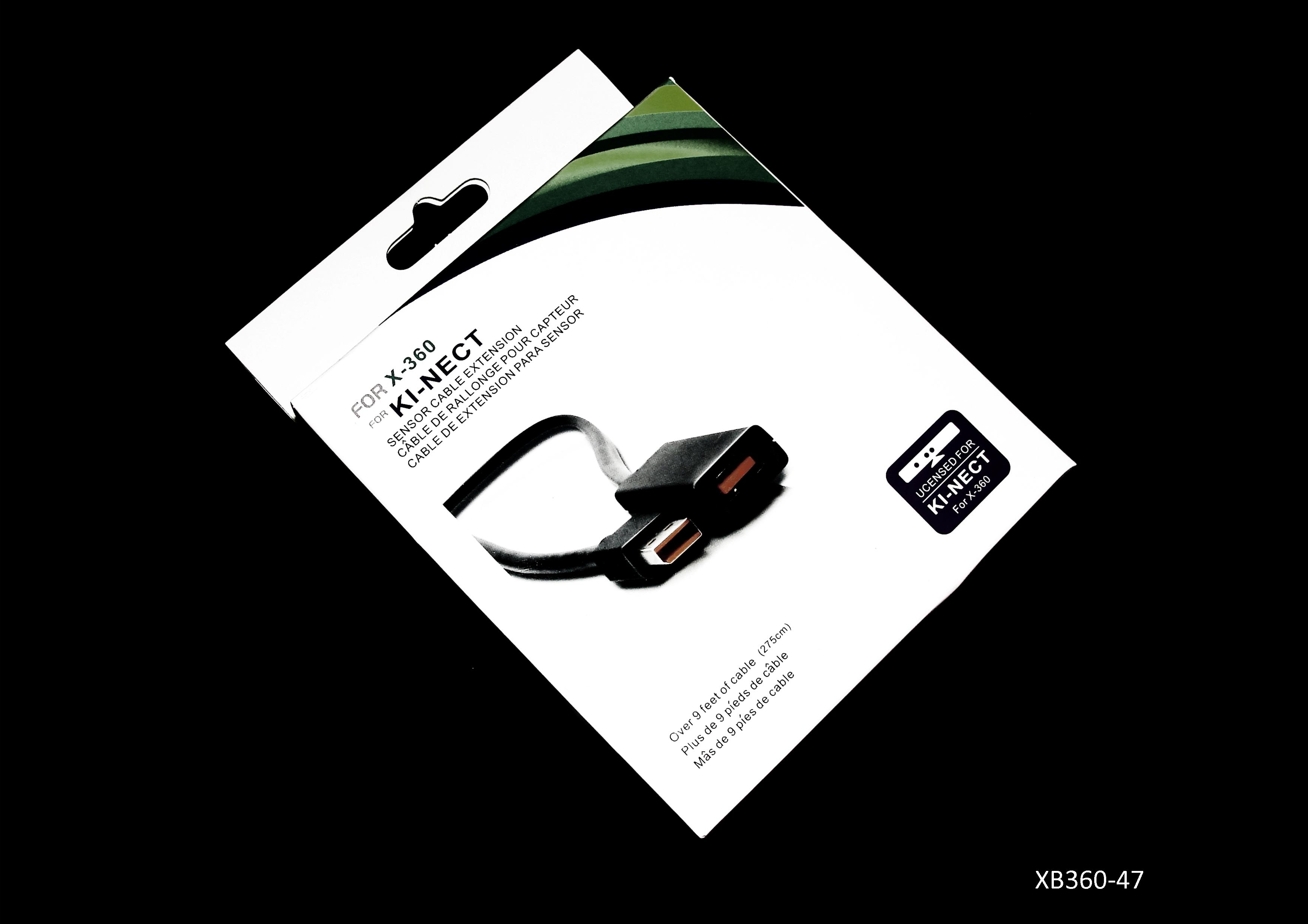 Product Photo/Kinect Extension Cable Lead Wire for Microsoft Xbox 360/Click to view.
