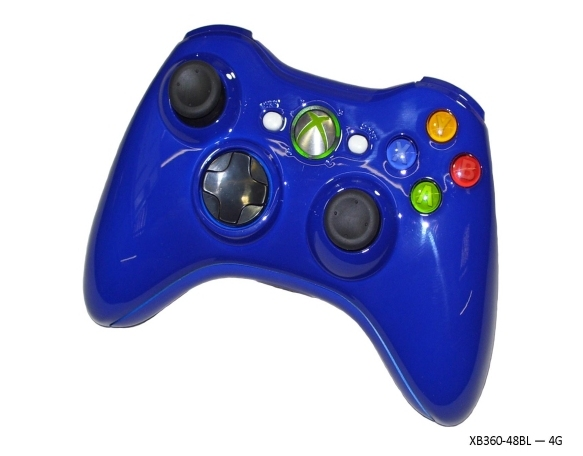 Product Photo/Xbox 360 Blue Controller - World At War/Click to view.