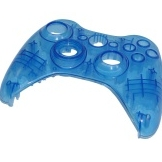 Product Photo/Replacement Faceplate for Controller (Clear Blue)/Click to view.