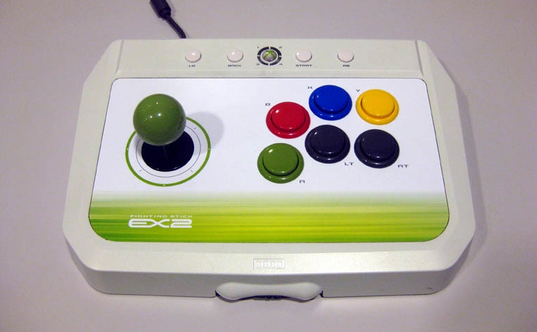 Product Photo/Xbox 360 HORI Fighting Stick EX2/Click to view.