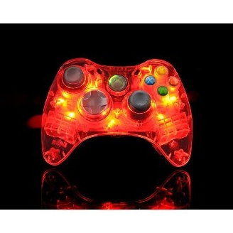 Product Photo/Xbox 360 AfterGlow AX.1 Red/Click to view.