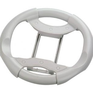 Product Photo/Xbox 360 Racing Wheel Controller White/Click to view.